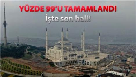 Çamlıca Camii açılış için gün sayıyor!