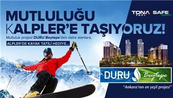 Duru Beytepe'den ev alana Alpler'de tatil fırsatı!