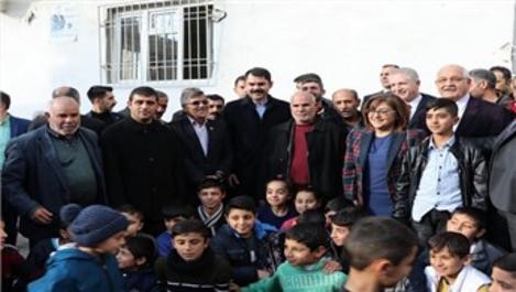 Bakan Kurum, Kuzey Şehir projesini ziyaret etti