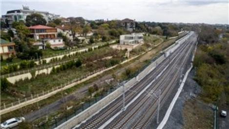 Gebze-Halkalı tren hattında son durum görüntülendi