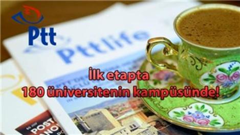 "PTT'den ""Posta Kahvesi"" konsepti!"