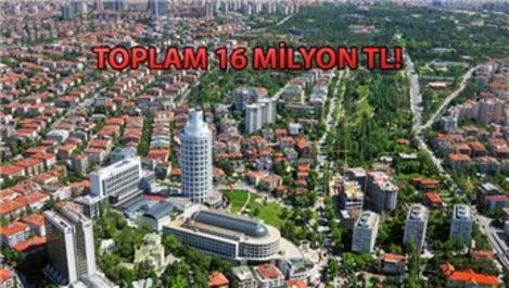 Çankaya Belediye Başkanlığı'ndan satılık 35 taşınmaz