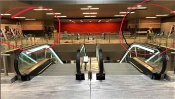Yunanistan'da treni gelmemiş metronun açılışı yapıldı!
