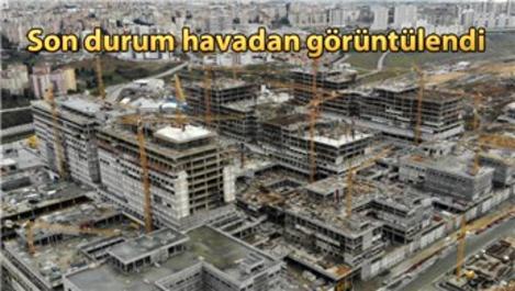 Başakşehir Şehir Hastanesi'nde çalışmalar sürüyor