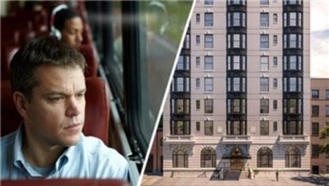 Oscar'lı oyuncu Matt Damon rekor fiyata çatı katı daire aldı