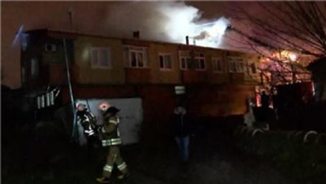 Ümraniye'de çıkan yangında 8 kişi kurtarıldı!