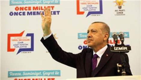 'İzmir'de 18 bin konut projesi hayata geçirdik'