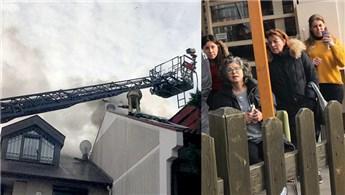 Bakırköy'deki villada yangın!