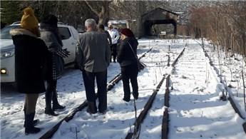 Eğirdir Tarihi Tren Garı'nda çalışmalar başladı