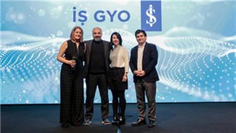 İş GYO, The ONE Awards'da Yılın İtibarlısı ödülüne layık görüldü