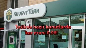 Kuveyt Türk, konut finansmanında kar oranını düşürdü!
