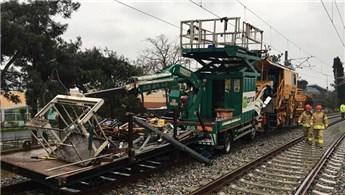 İstanbul'da tren kazası!