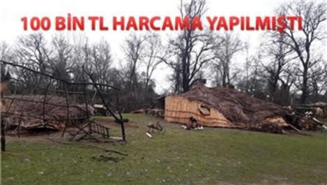 Recep İvedik 6 için yaptırılan bungalov evler yıkıldı!