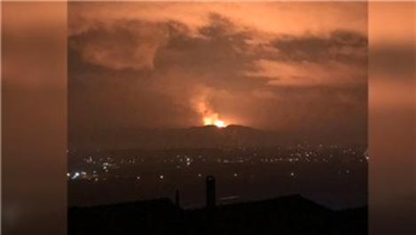 Sakarya'da doğalgaz hattında patlama!