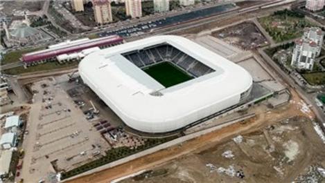 Eryaman Stadı ligin ikinci yarısına hazır hale geliyor!