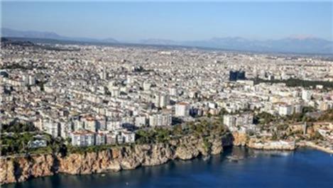 Antalya'da 2018 yılında konut satışı yüzde 4,4 oranında arttı