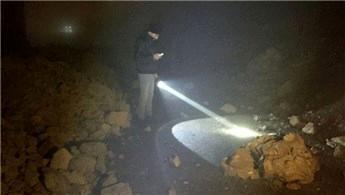 Kahramanmaraş'ta 30 metrelik istinat duvarı çöktü