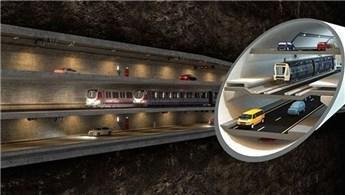 '3 Katlı Büyük İstanbul Tünel Projesi'nde değişiklik!