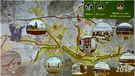 Bursa'da yeni metro hatları inşa edilecek