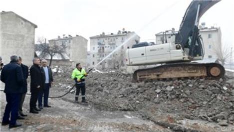 Malatya'da kentsel dönüşüm çalışmaları devam ediyor