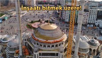 Taksim Camisi ve Topçu Kışlası alanında son durum!