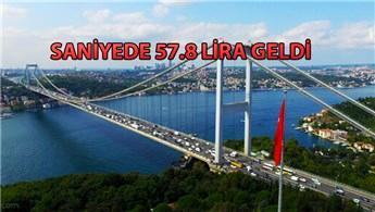 Köprü ve otoyollardan 2018'de rekor kazanç sağlandı!