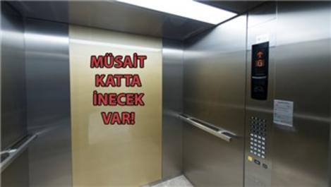 Deprem anında asansörde kalma korkusu tarih oluyor!