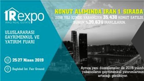 IREXPO Fuarı 25-27 Nisan'da Bağdat'da düzenlenecek