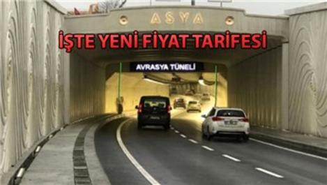 Avrasya Tüneli geçiş ücretlerine zam yapıldı!