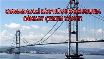 Osmangazi Köprüsü'nde hisse satışı mümkün!