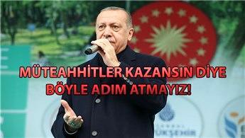 Cumhurbaşkanı Erdoğan'dan kentsel dönüşüm uyarısı!