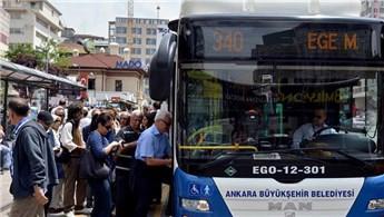 Ankara ulaşımında kredi kartı dönemi!