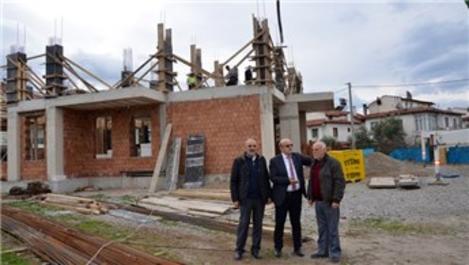 İznik'te Millet Camisi inşaatı hızla devam ediyor!
