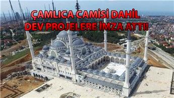 Çamlıca Camisi'nin müteahhiti Hedef Yapı iflas etti