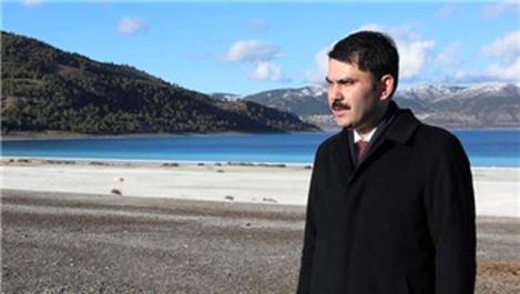 'Salda Gölü'nün imara açılacağı iddiası doğru değil'