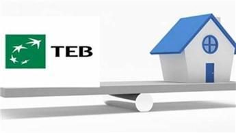 TEB, konut kredisi faiz oranını yüzde 1,70'e düşürdü