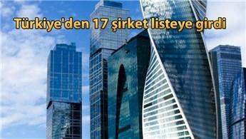 Dünyanın en büyük inşaat firmaları açıklandı