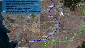 Ataşehir'deki Raylı Sistem Hattı imar değişikliği onaylandı!
