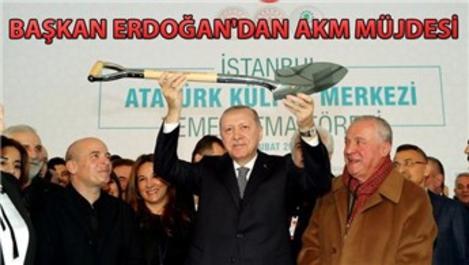 Yeni Atatürk Kültür Merkezi'nin temeli atıldı