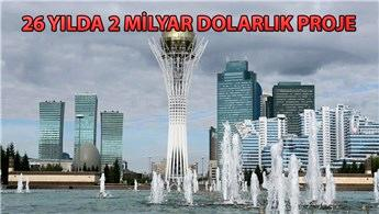Büyük Almatı Çevre Yolu projesine Türk imzası!