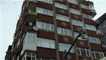 Bahçelievler'de 7 katlı bir bina boşaltıldı