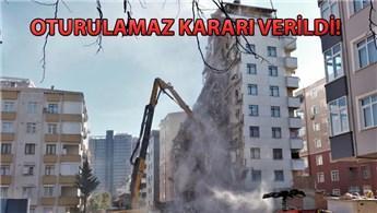 Kartal'daki Nuri Bey Apartmanı da tahliye ediliyor