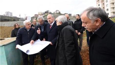 Ulaştırma Bakanı Cahit Turhan, Kanuni Bulvarı'nı inceledi!