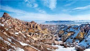 Kapadokya'da otel inşaat için başlatılan yıkım durduruldu!