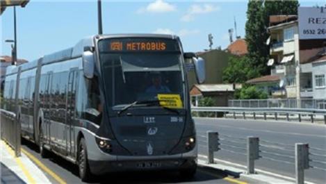 Bolu'ya metrobüs geliyor!