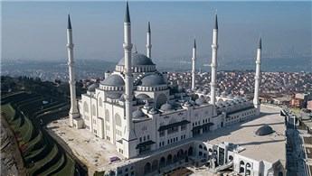 Çamlıca Camisi açılış için gün sayıyor!