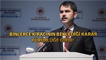 Murat Kurum: Yİ-ÜFE yerine TÜFE dikkate alınacak!