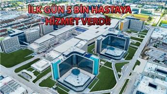 Ankara Şehir Hastanesi hizmet vermeye başladı!