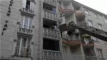 Esenyurt'ta 5 katlı bir apartmanda yangın çıktı!