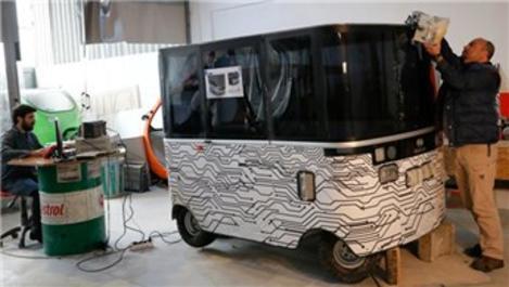 Yerli sürücüsüz elektrikli araç yola çıkmaya hazır!